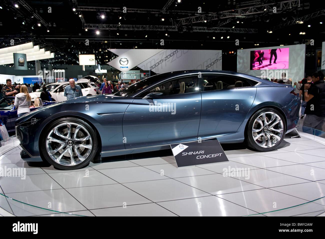 Mazda Shinari concept world debut at the 2010 LA Auto Show in the ...
