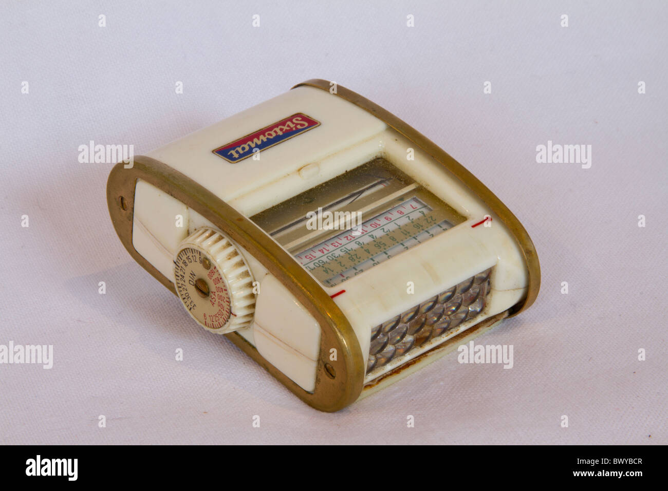 old light meter white Stock Photo: 33178455 - Alamy