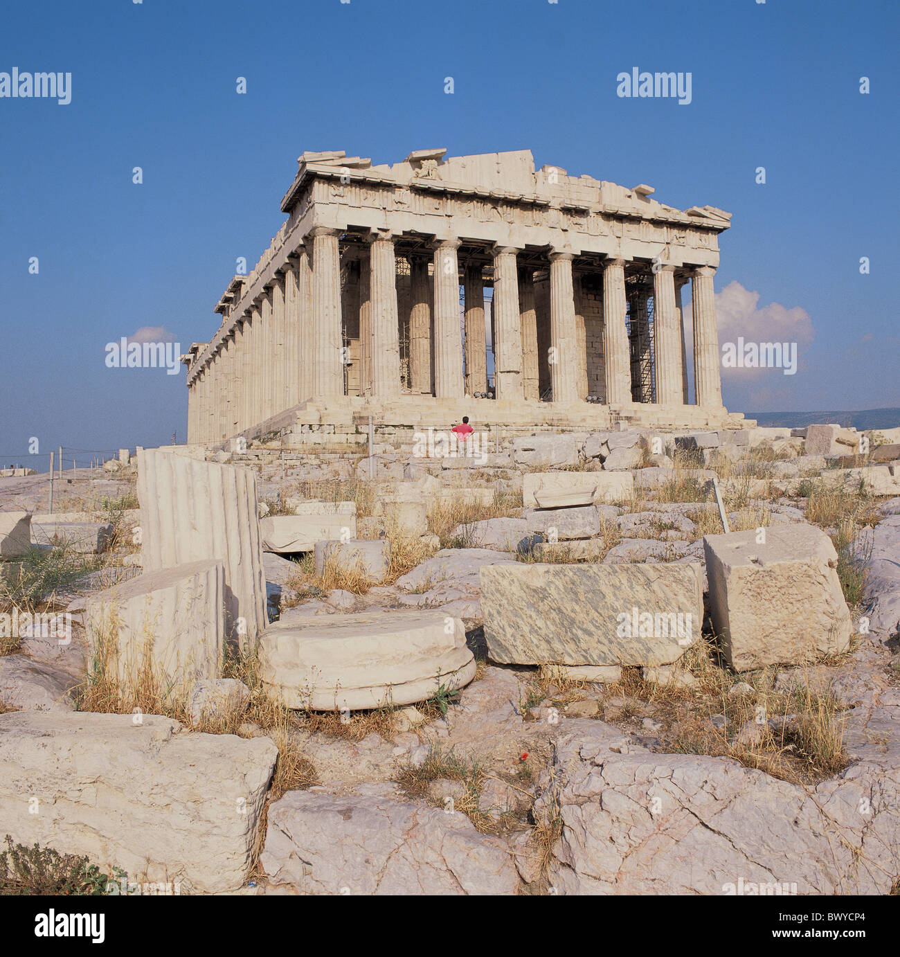 Greece Athens Acropolis Parthenon Antique Ancient World Antiquity