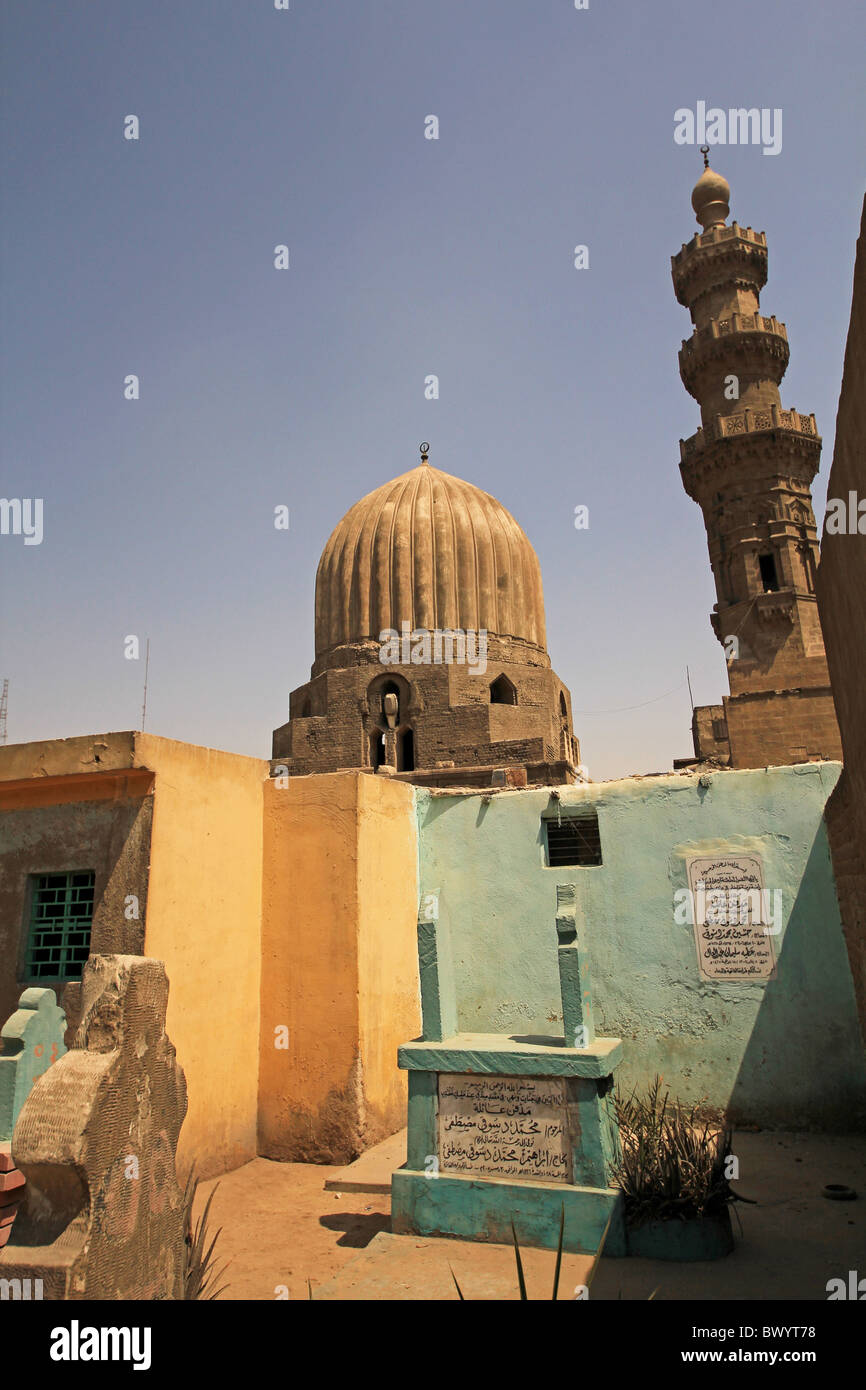City of died in Cairo, Egypt - Stock Image