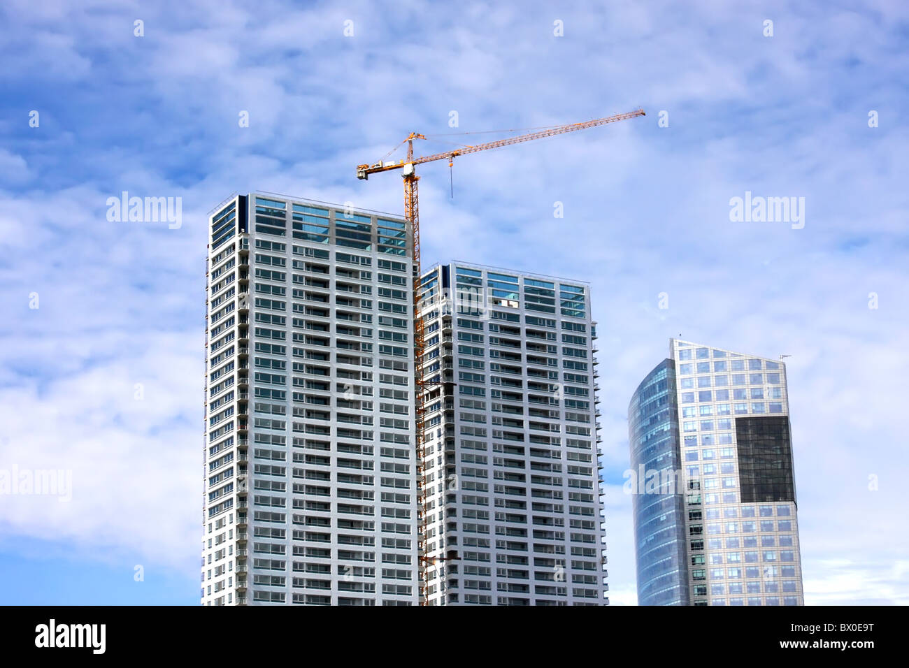 Skyscrapers in Buenos Aires, Argentina. - Stock Image