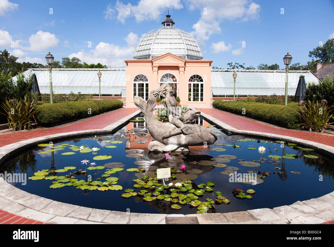 Since 1936 The New Orleans Botanical Garden In Louisiana Originally Stock Photo Alamy