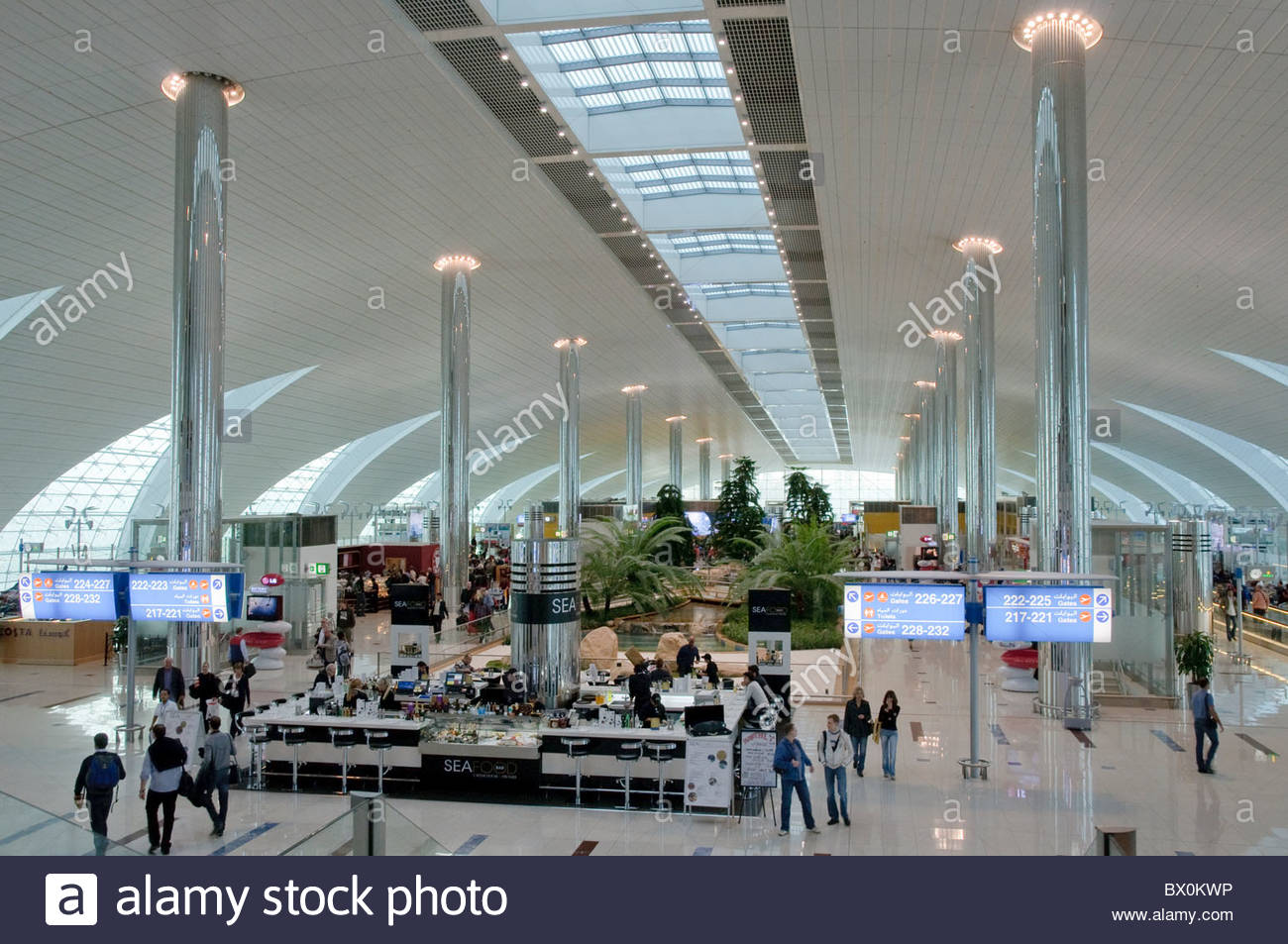 Dubai international airport new terminal 3 exclusively for International decor uae