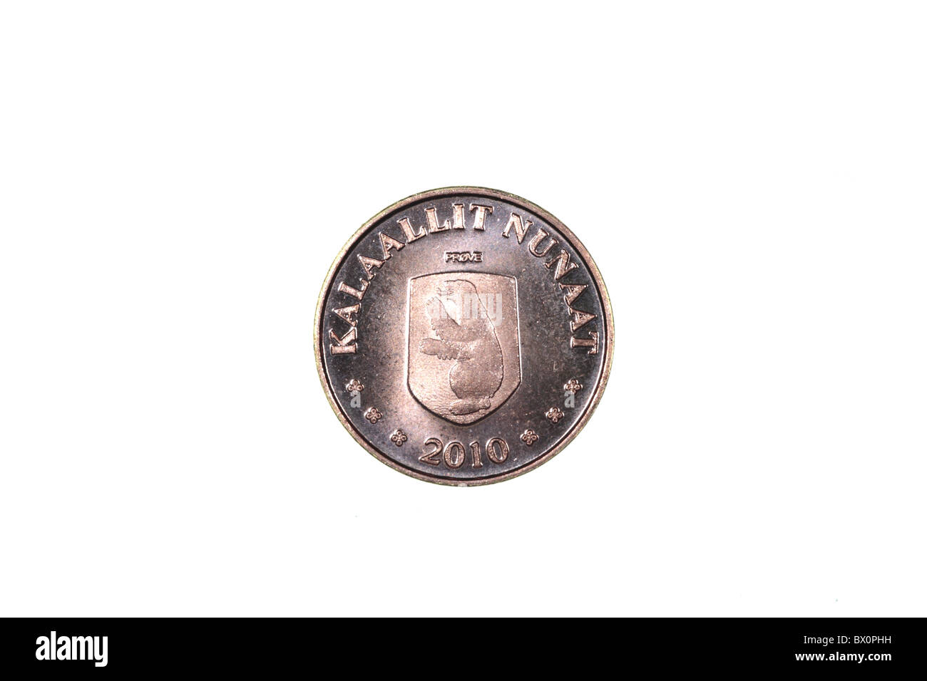 Coin - Greenland - Stock Image