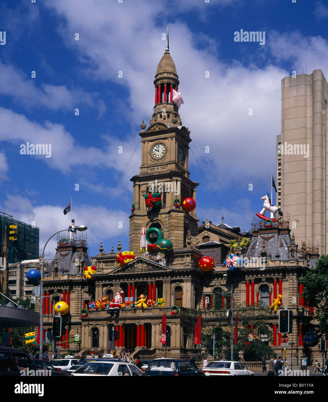 Christmas Decorations Shops Sydney: Australia Sydney Town Resound City Hall Architecture