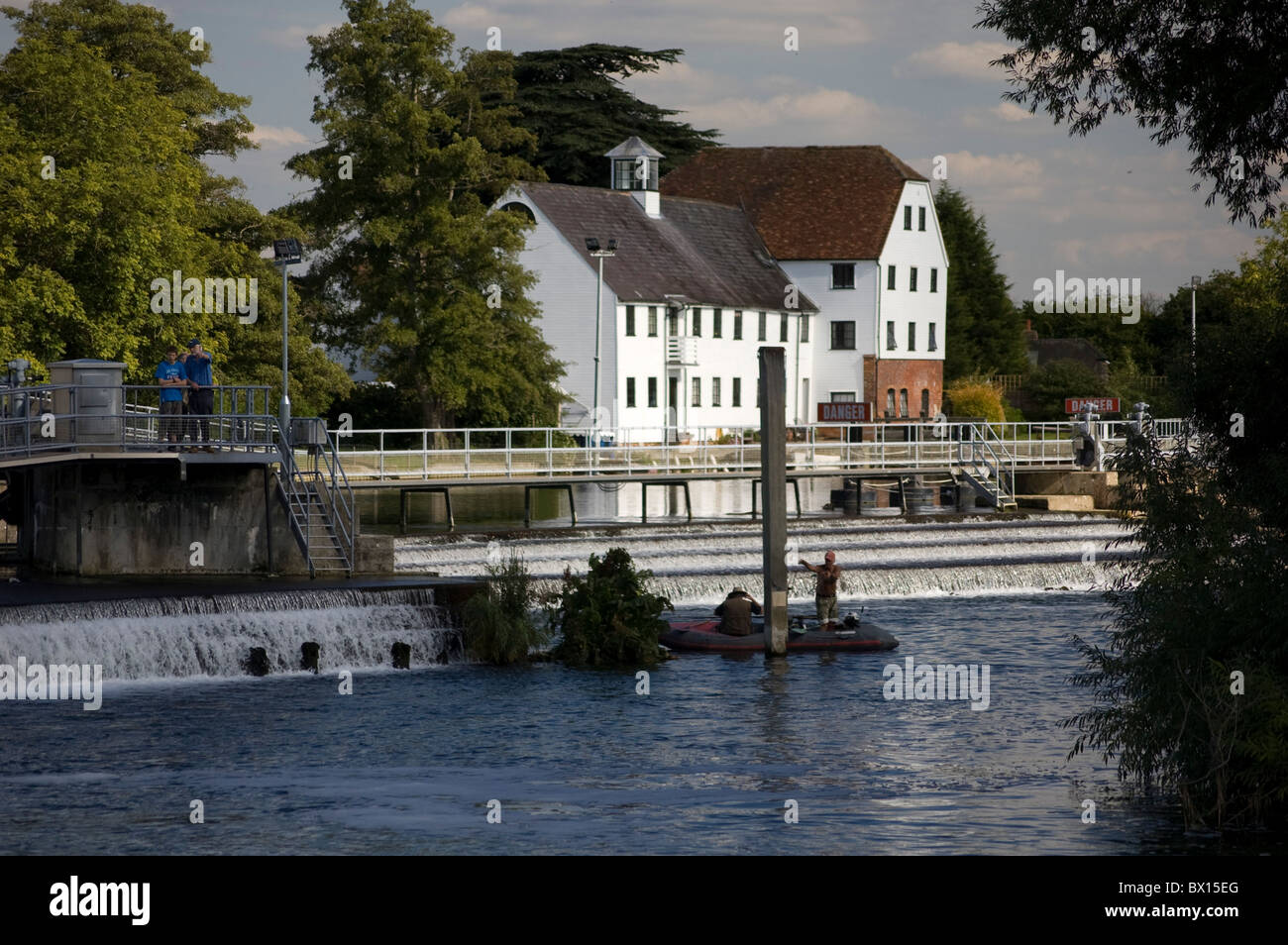 Hambleden Mill, Buckinghamshire, UK - Stock Image