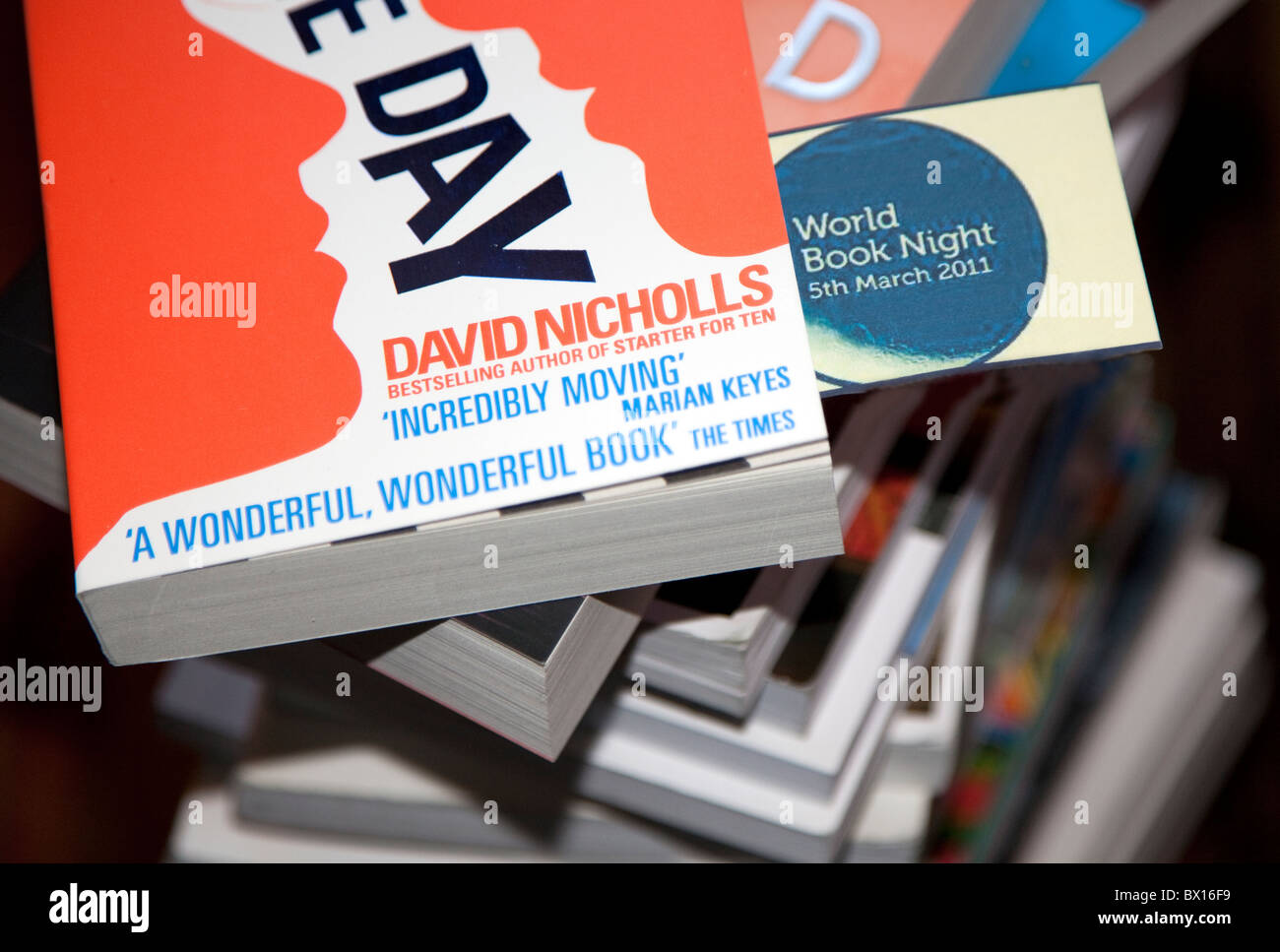 World Book Night  5th March 2011: 1 million books to be given away - Stock Image