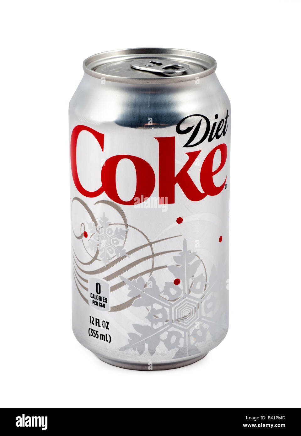 Can of Diet Coca Cola, USA - Stock Image