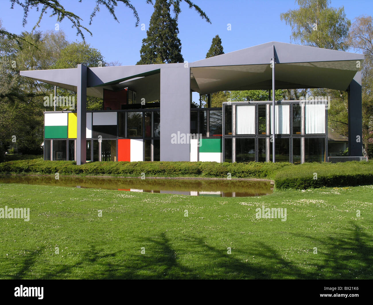 Architecture city home le corbusier house modern zurich outside switzerland europe town