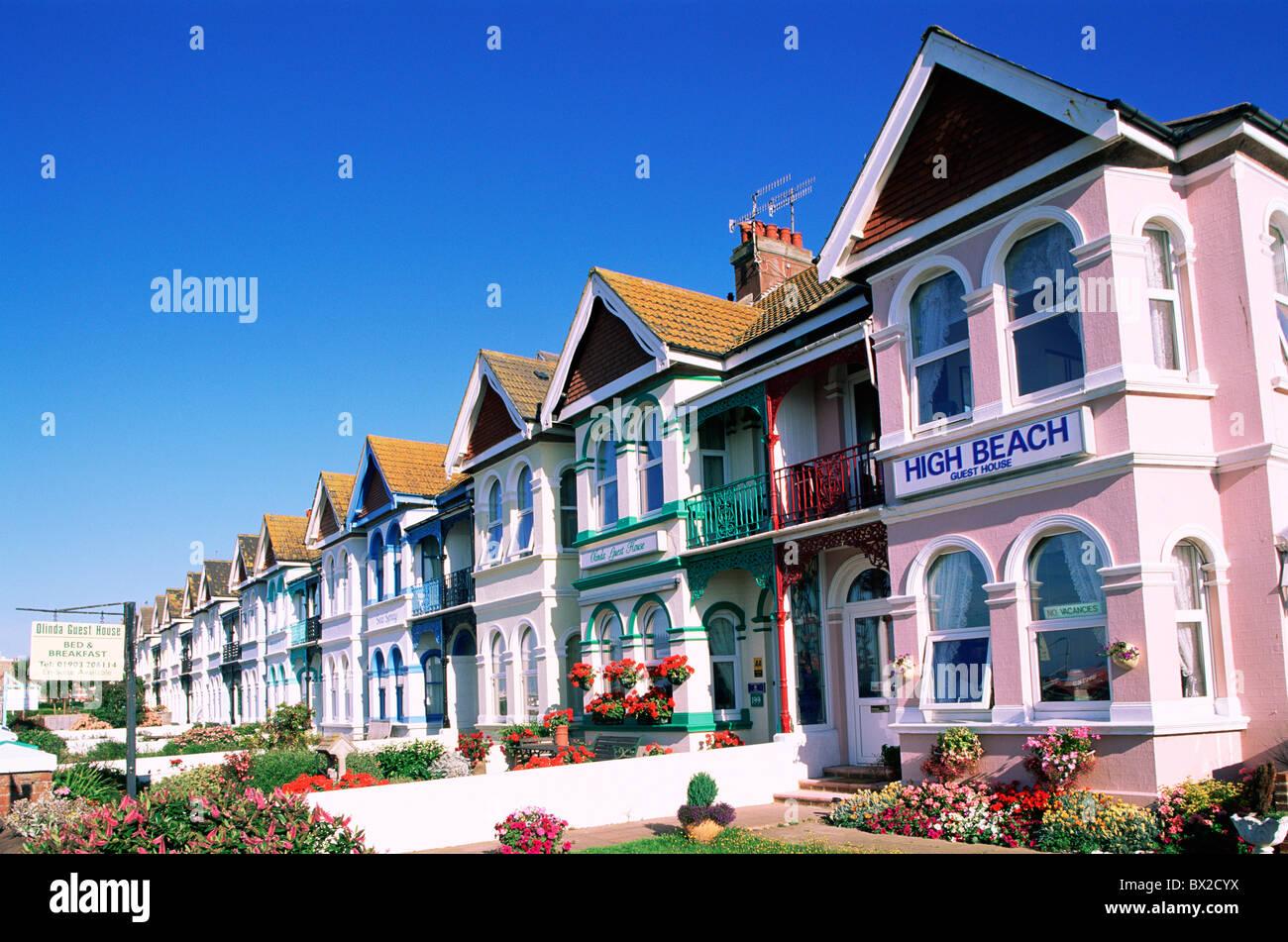 Accomodation B B B B Sign Bed and Breakfast Britain British Isles England Great Britain Europe Holiday H Stock Photo