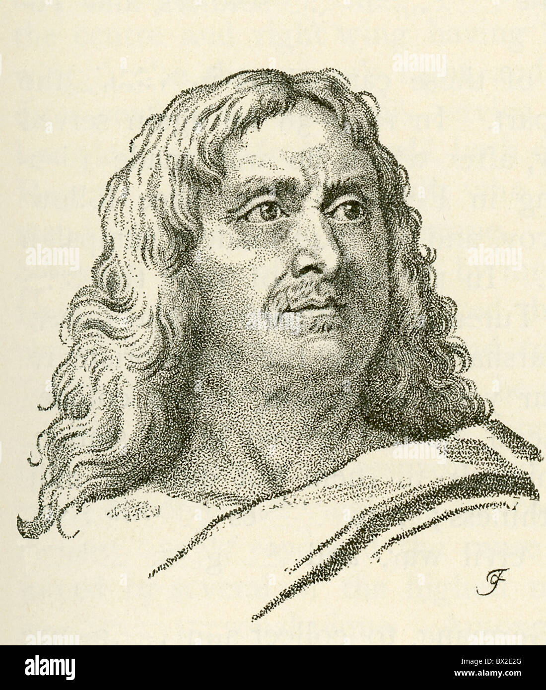 Considered a top French general  (Napoleon declared him the best), Marshal Turenne was one of Louis XIV's great - Stock Image