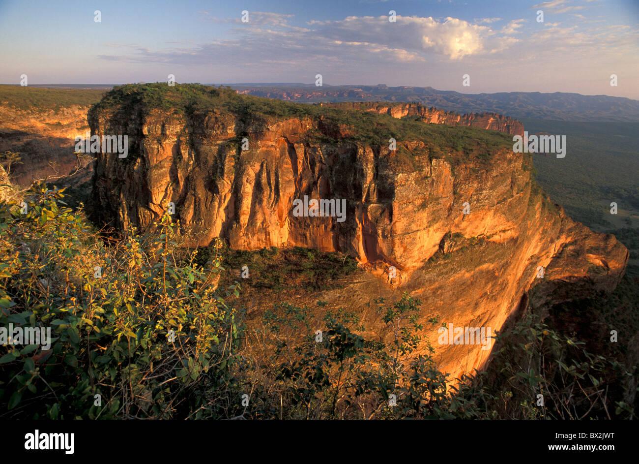 Cidade de Pedra Chapada dos Guimares near Cuiaba Mato Grosso Brazil South America landscape - Stock Image