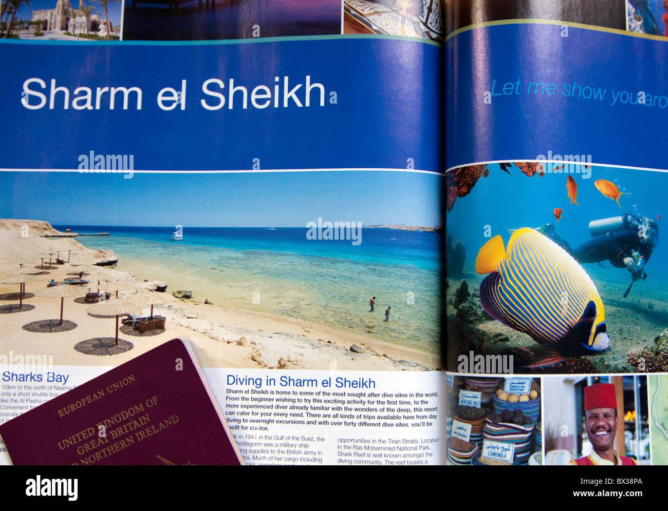 egypt travel brochures