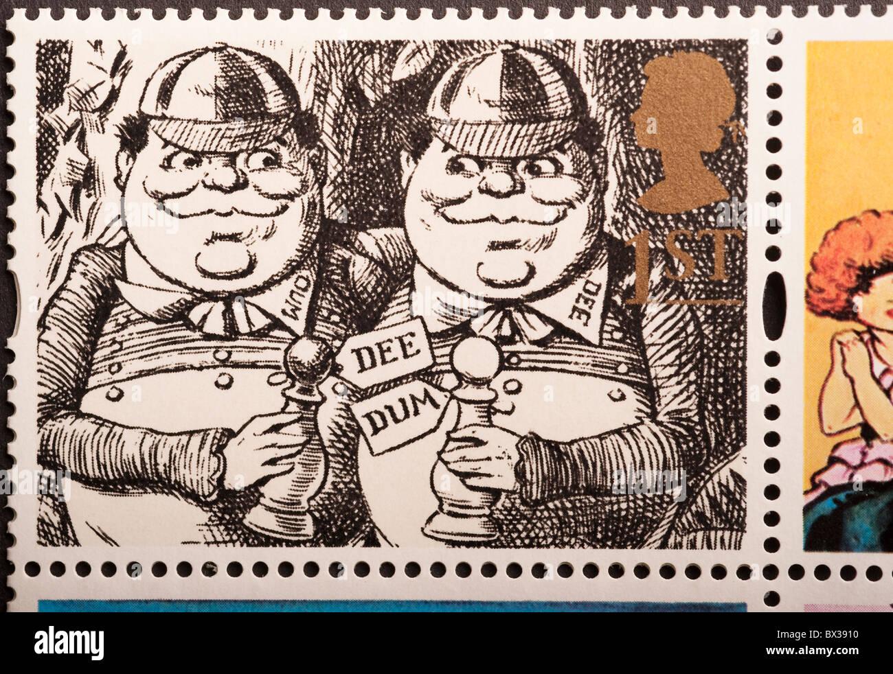 United Kingdom Postage Stamp 1st - Stock Image
