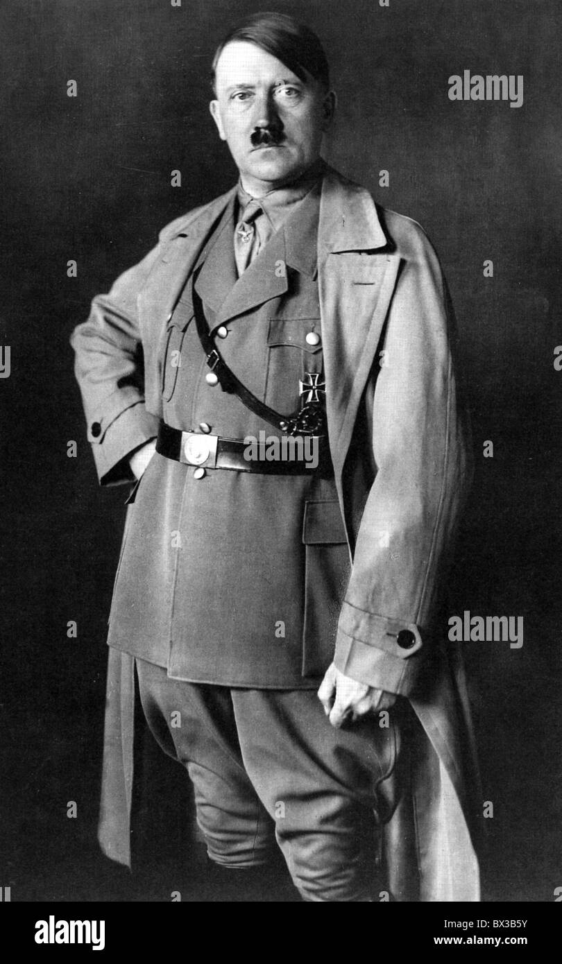 ADOLF HITLER 1933. Photographed by Heinrich Hoffman as Chancellor of the Reich - Stock Image