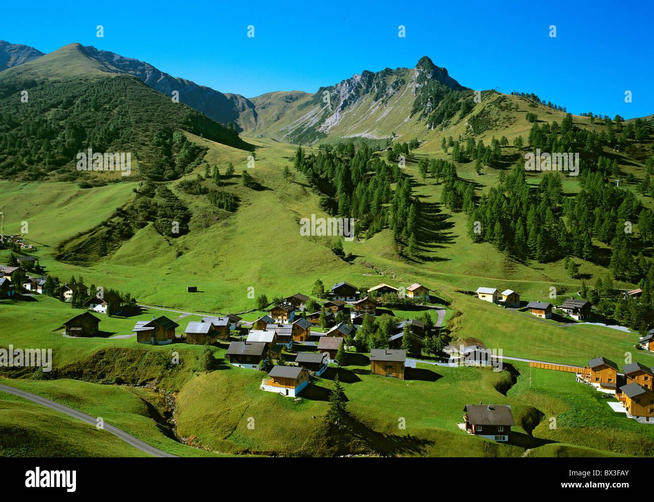 Malbun Village Liechtenstein Europe Mountain Village