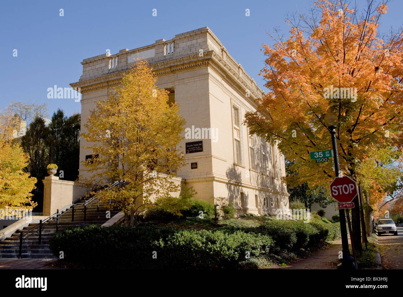 Volta Bureau and Laboratory by Alexander Graham Bell, Georgetown, Washington D.C. - Stock Image