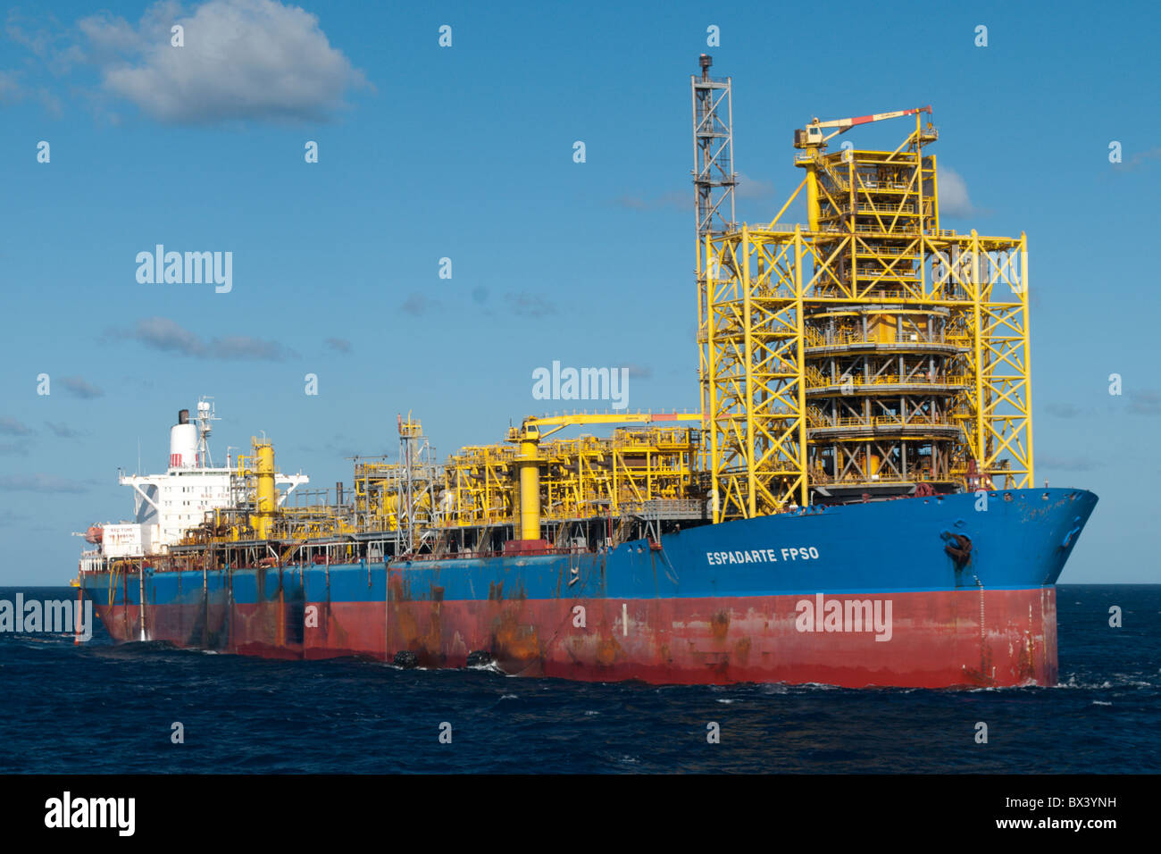 FPSO Espadarte, oil production rig from brazilian company Petrobras