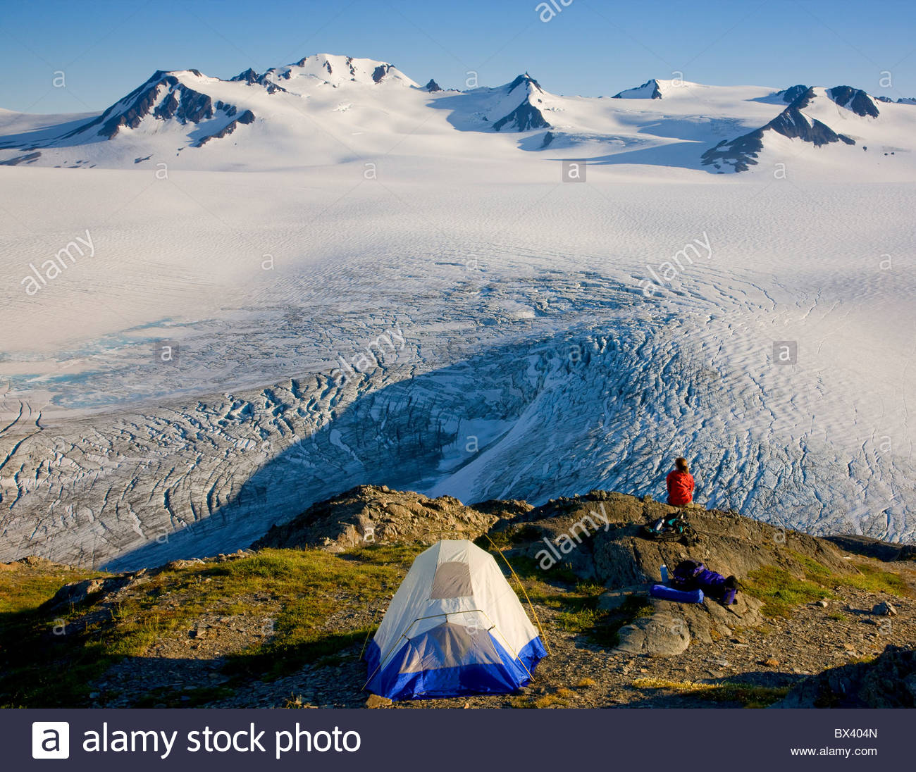 Harding Icefield Stock Photos Harding Icefield Stock Images Alamy