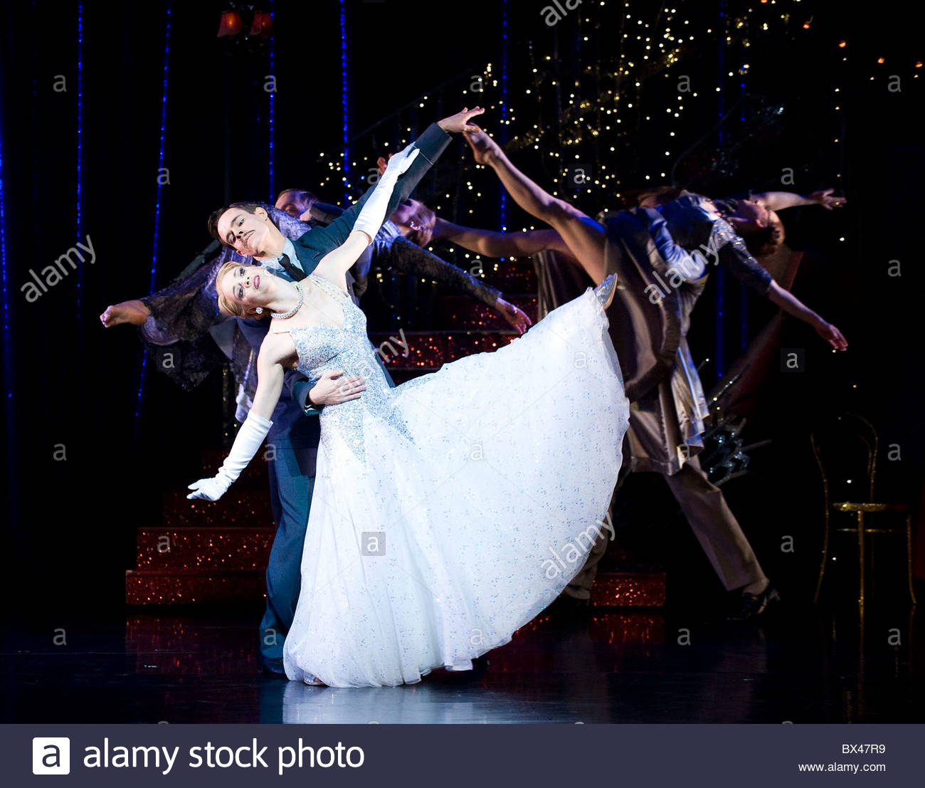 Cinderella choreographed and directed by Matthew Bourne.With Kerry Biggin as Cinderella,Sam Archer as The Pilot.Opens - Stock Image