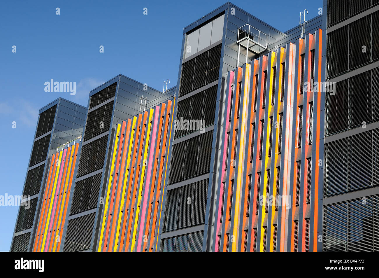 Detail of the modern architecture - Stock Image