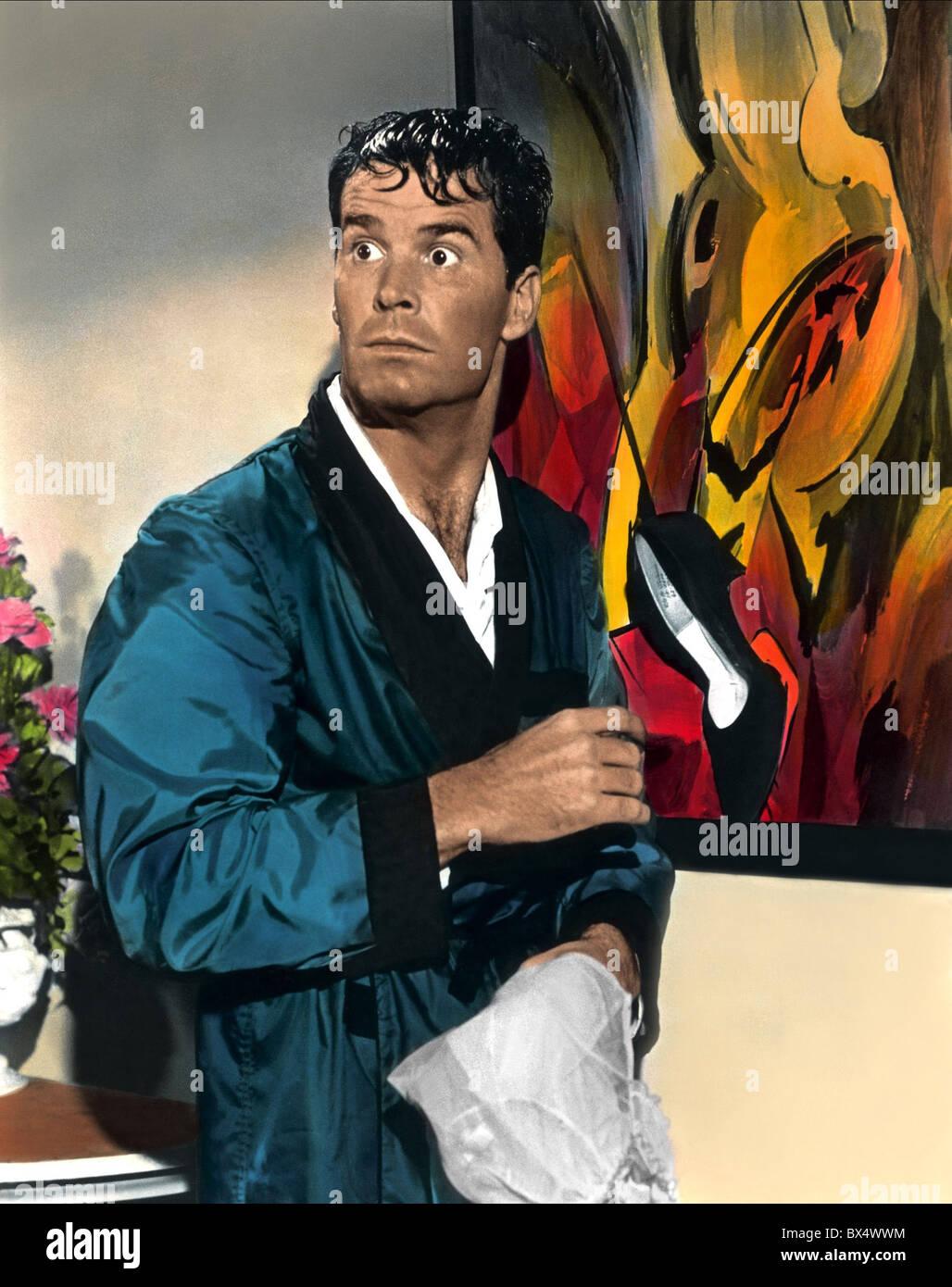 JAMES GARNER THE WHEELER DEALERS (1963) - Stock Image