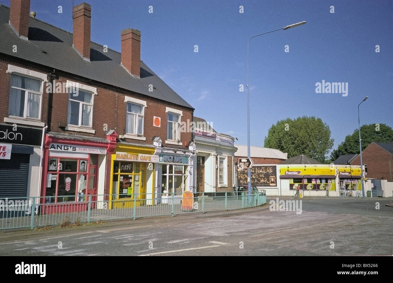 Halesowen Road, Old Hill, Sandwell, Black Country, West Midlands, England, UK - Stock Image