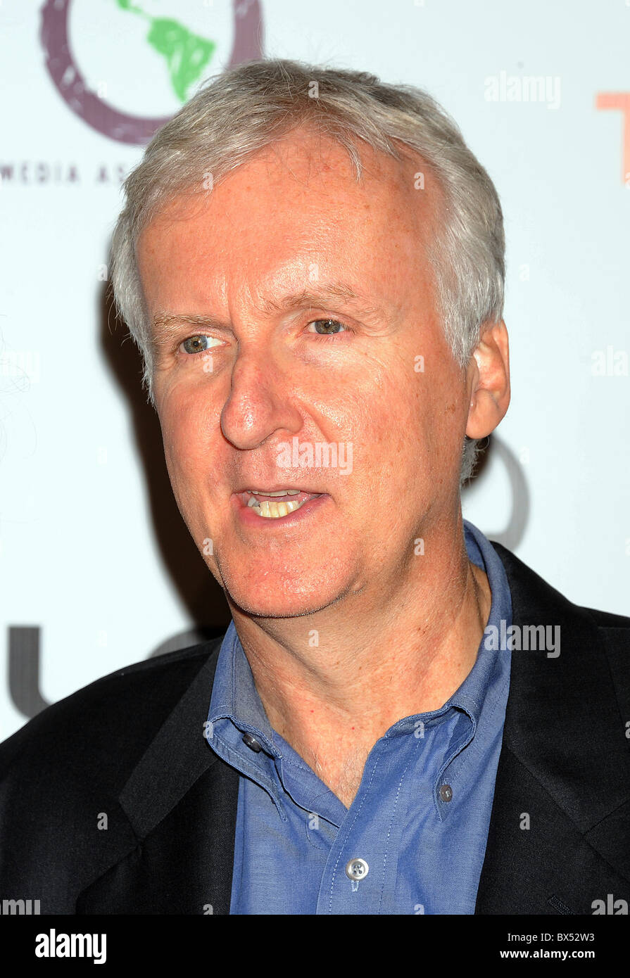 JAMES CAMERON  Candian film director in October 2010. Photo Jeffrey Mayer - Stock Image