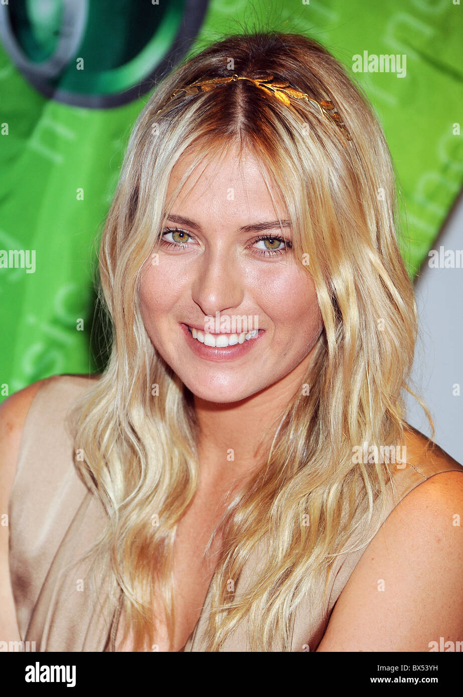 MARIA SHARAPOVA  Russian tennis player in October 2009. Photo Jeffrey Mayer - Stock Image