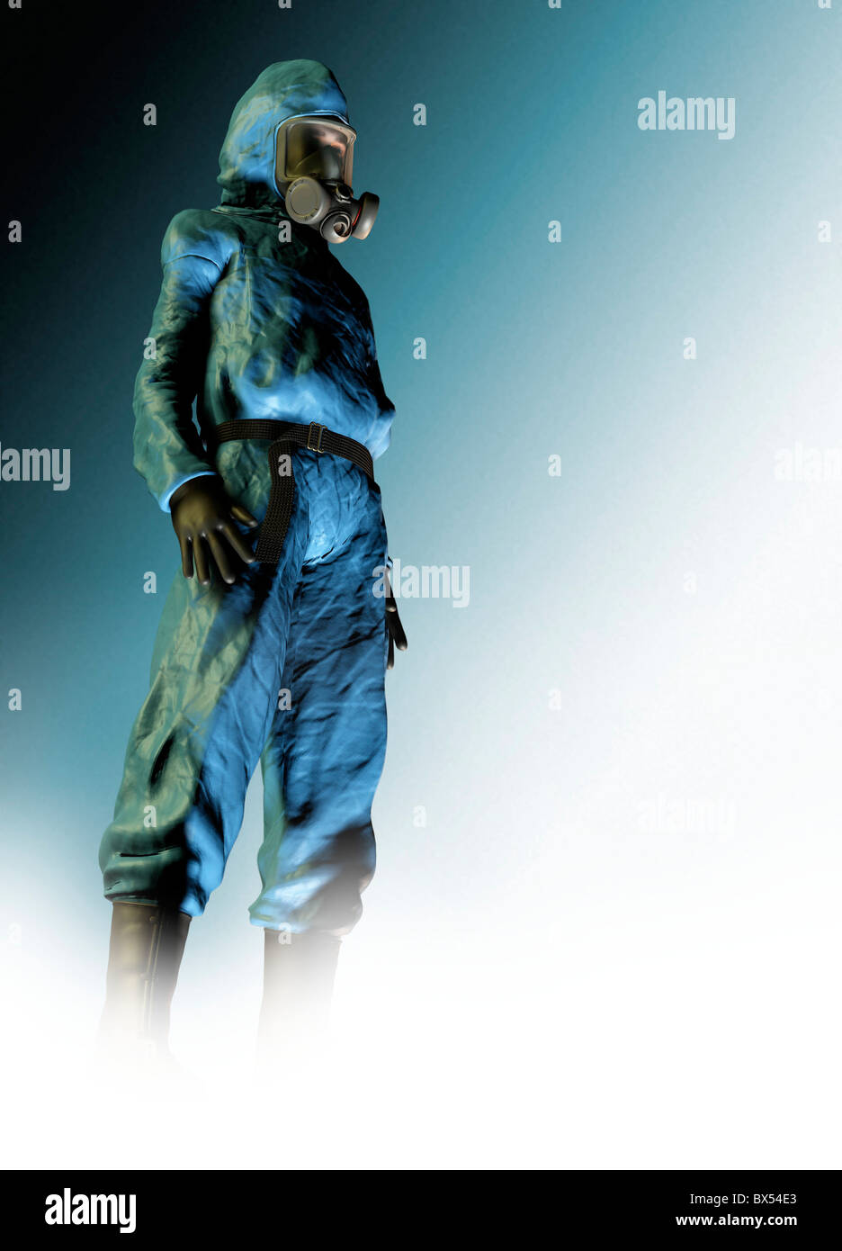 Isolation suit - Stock Image