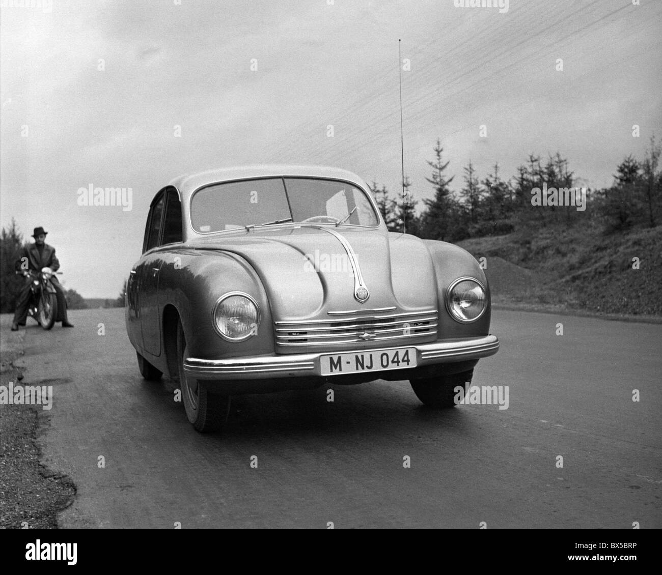 Tatra 600 - Stock Image