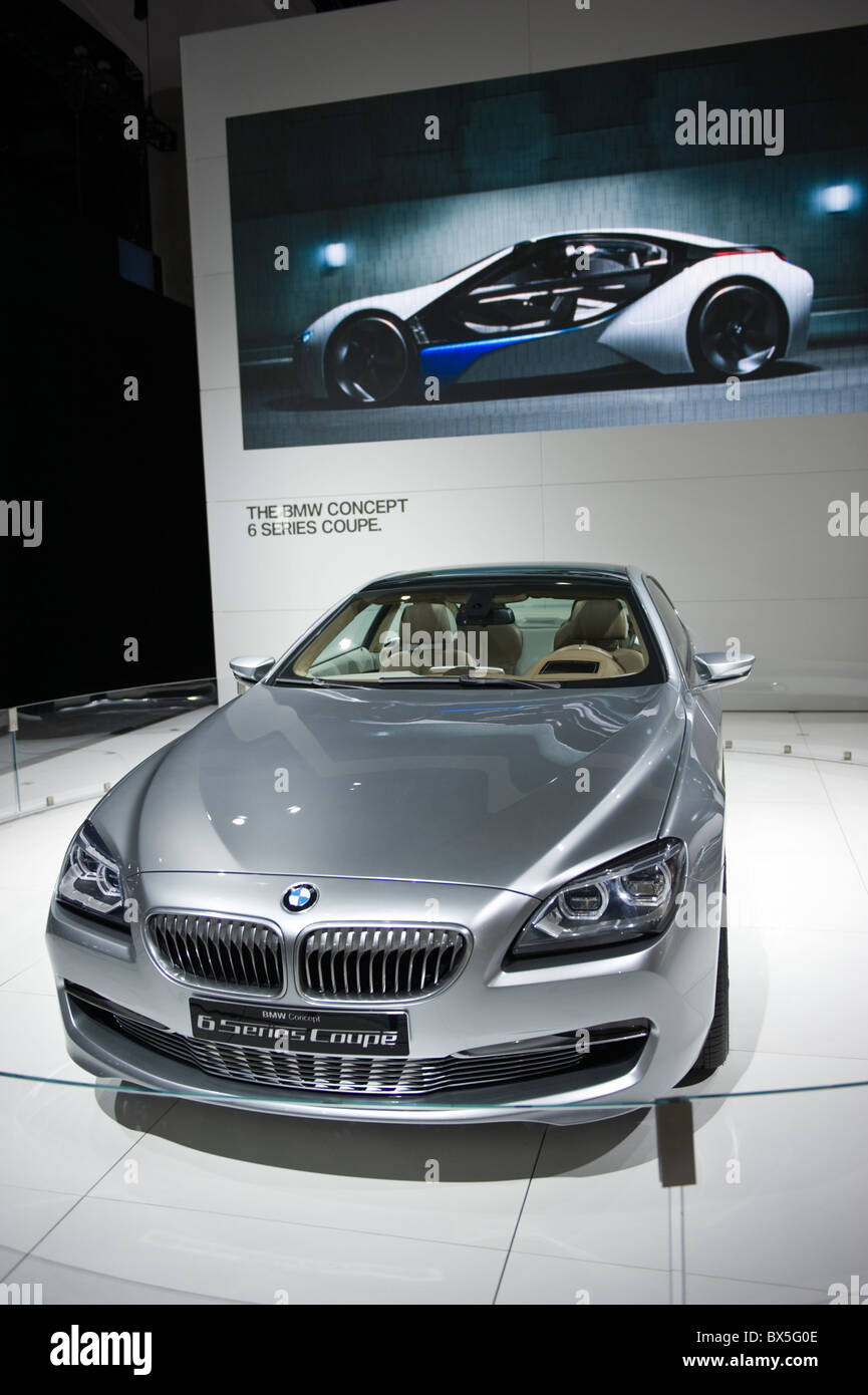 BMW 6 Series concept NA debut at the 2010 LA Auto Show in the Los ...