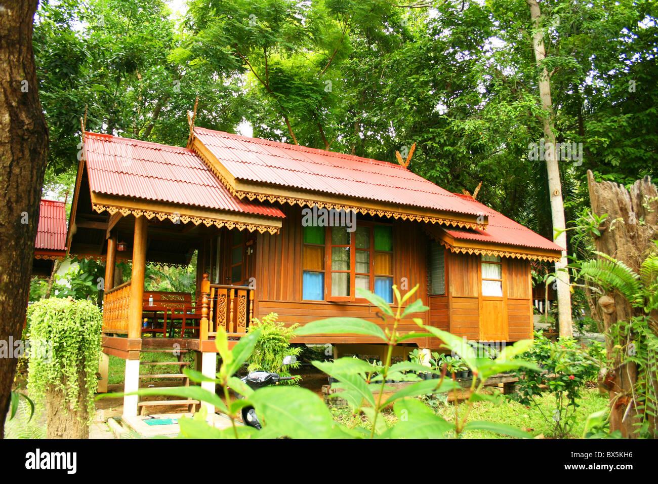 Beach hut on Koh Samet island in Thailand Stock Photo: 33316562 - Alamy