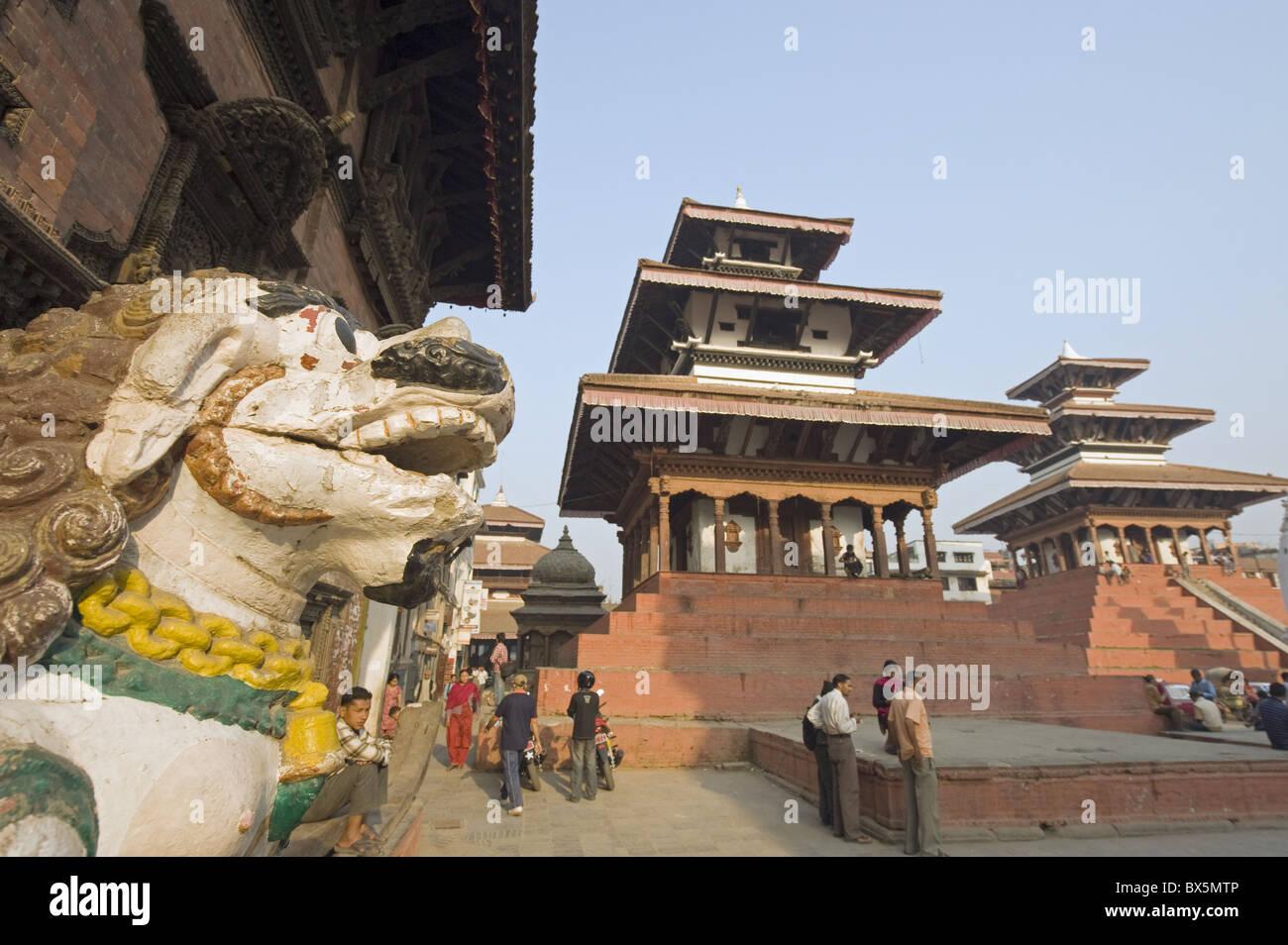 Maju Dega temple, Durbar Square, Kathmandu, Nepal, Asia - Stock Image