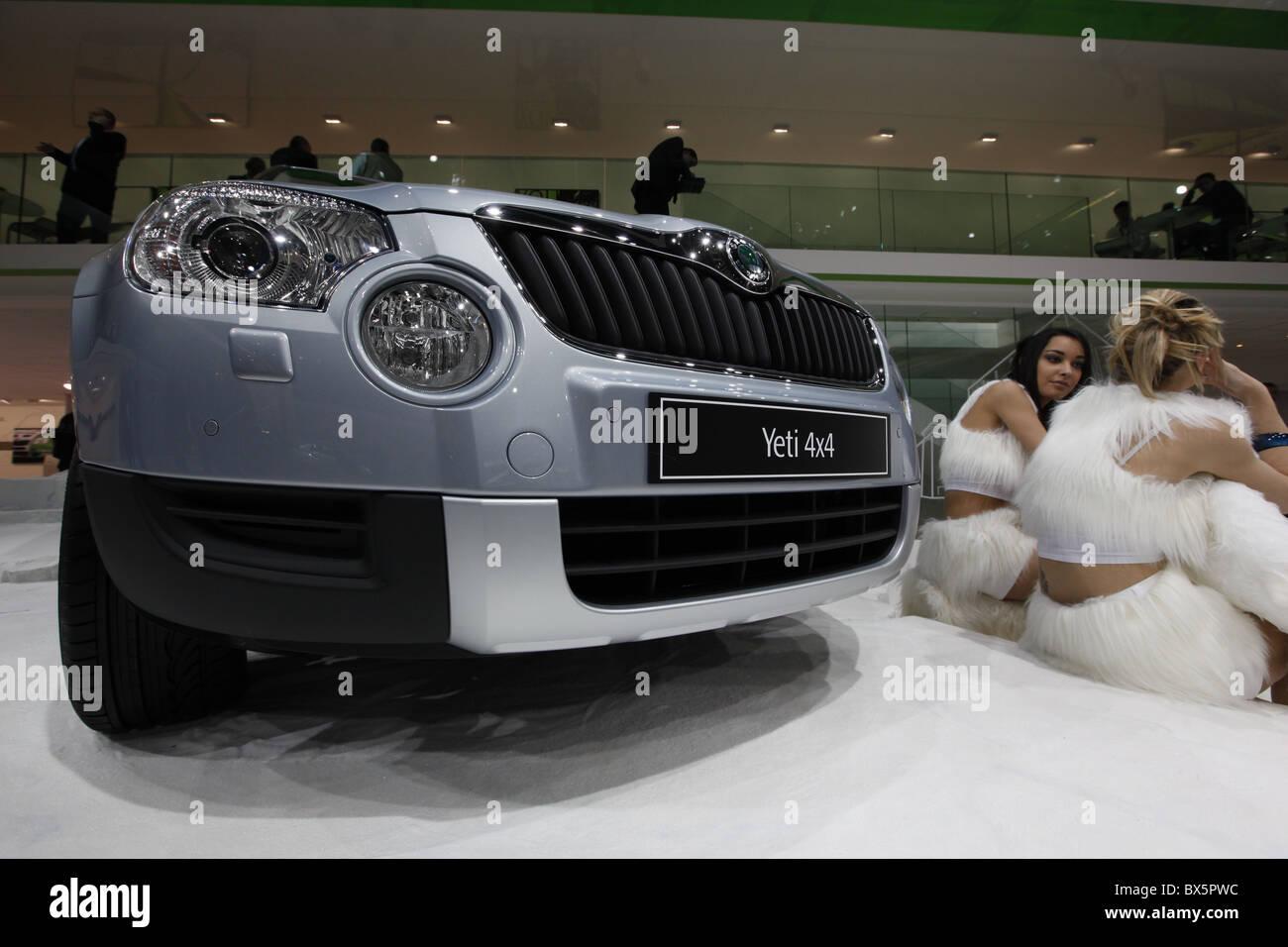 Skoda Yeti during the 79th International Motor Show in