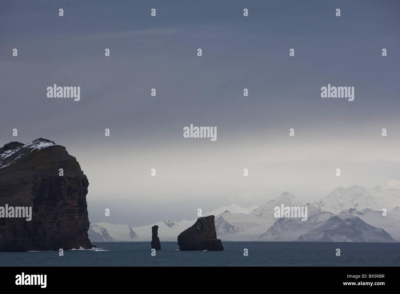 Deception Island, South Shetlands, Antarctic, Polar Regions - Stock Image