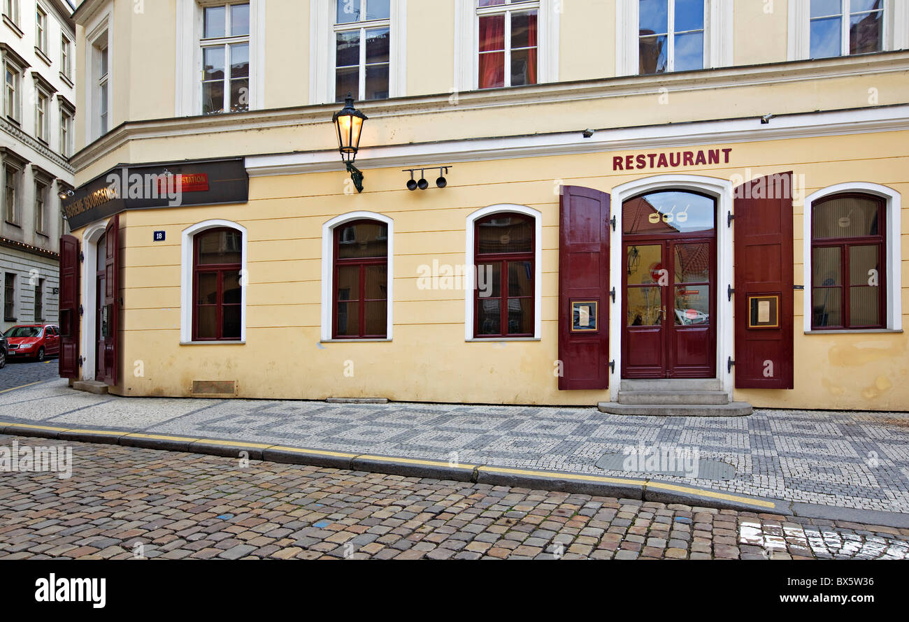 Prague, restaurant Le Degustation Boheme Bourgeoise, Michelin star. (CTK Photo/Josef Horazny) - Stock Image