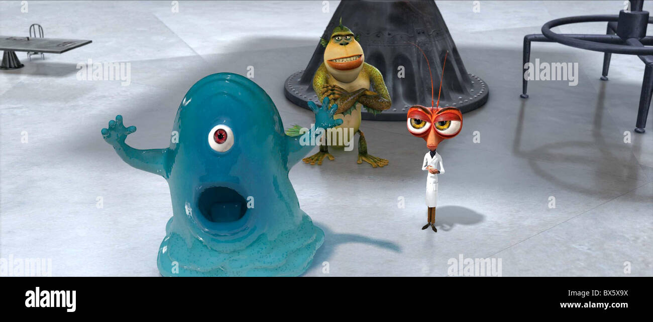 B O B The Missing Link Dr Cockroach Monsters Vs Aliens 2009 Stock Photo Alamy