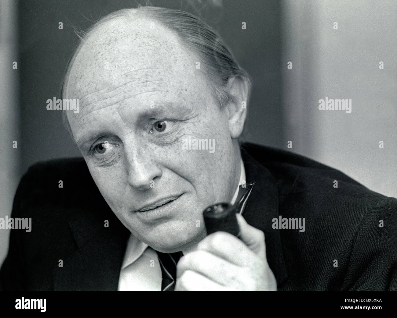 Neil Kinnock, British Labour politician. He was an MP from 1970 to 1995 and was Labour leader from 1983 until 1992 Stock Photo