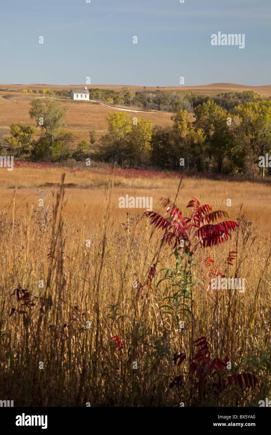 Tallgrass Prairie National Preserve - Stock Image