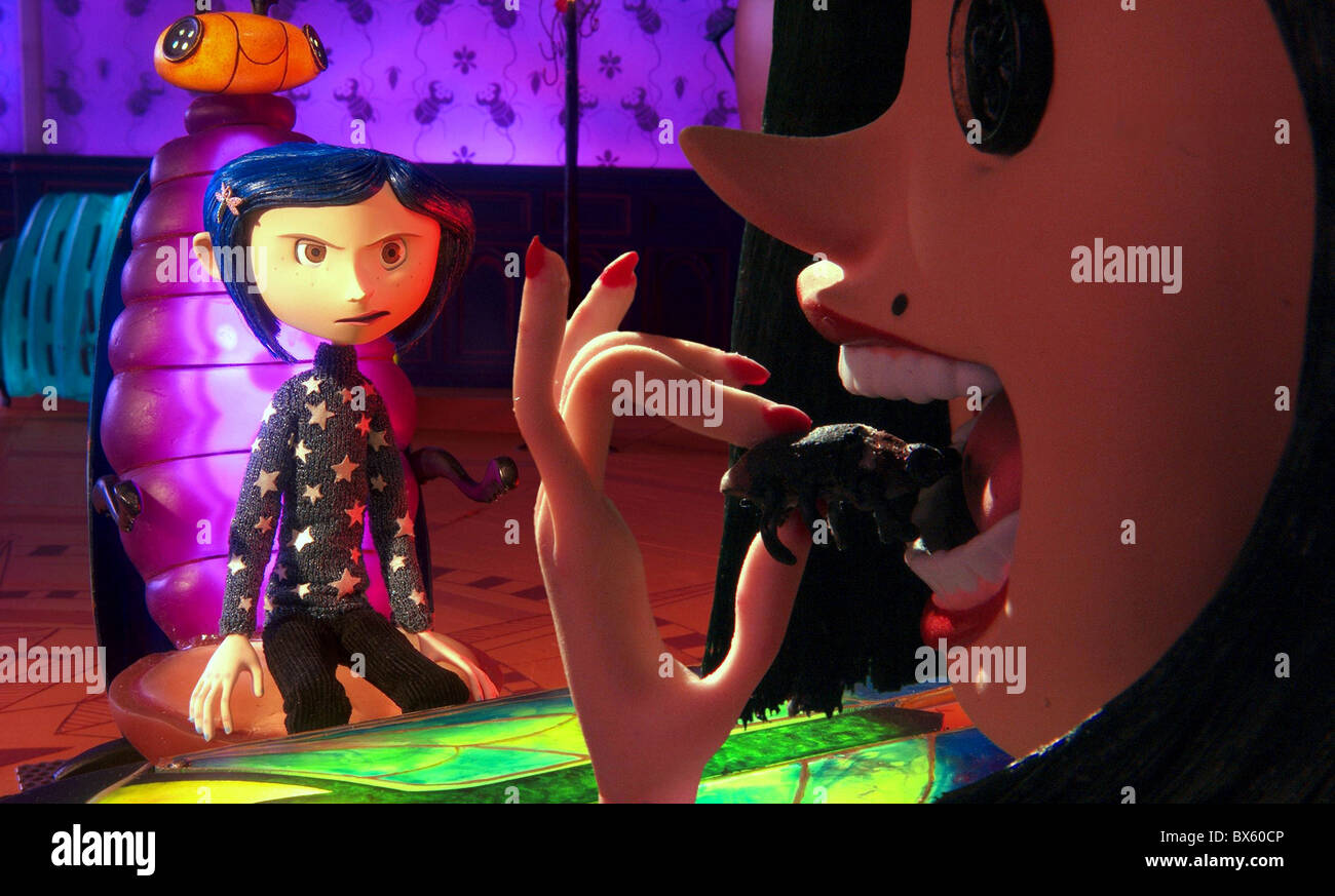 CORALINE AND OTHER MOTHER (2009) - Stock Image