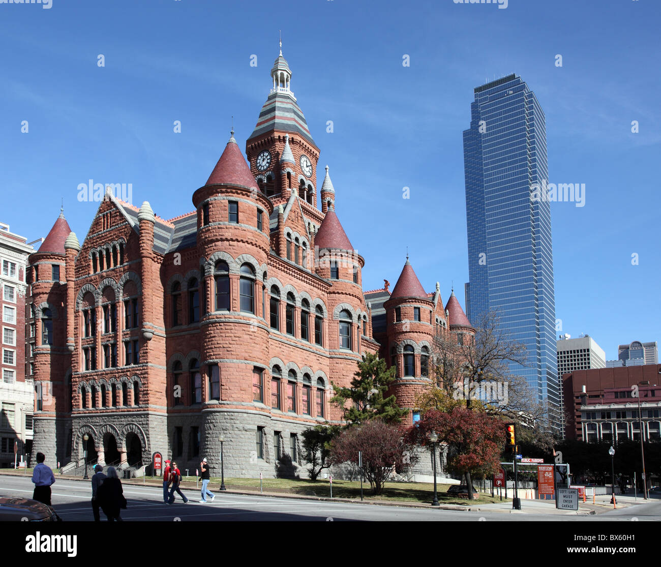 Old Red Museum, West End historic District, Dallas, Texas - Stock Image