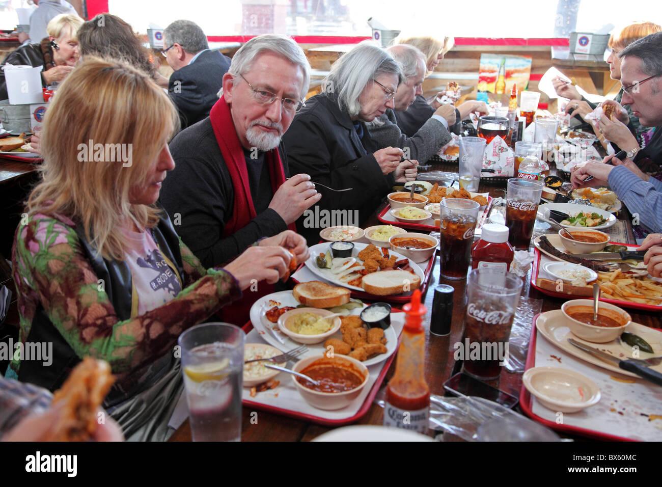 Fort Worth Stockyards Lunch Riscky S Restaurant Texas