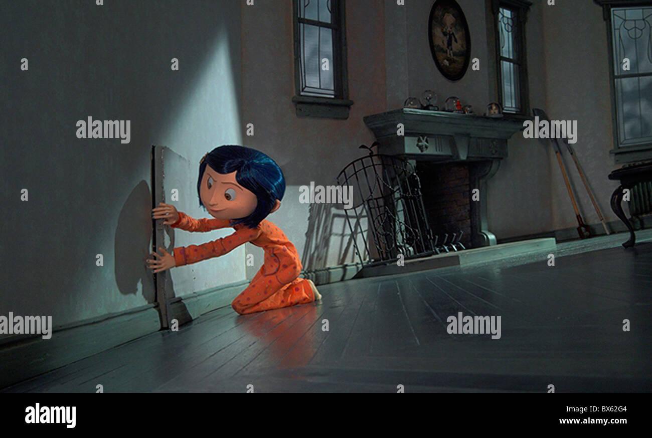 CORALINE (2009) - Stock Image