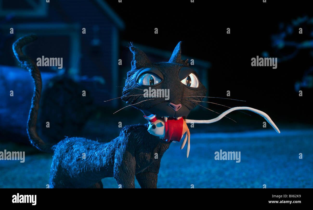 CORALINE BLACK CAT (2009) - Stock Image