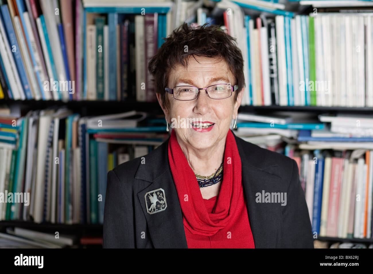 Czech social scientist and publicist Jirina Siklova on May 14, 2010, in Prague. (Ctk Photo/Martin Sterba, Josef - Stock Image