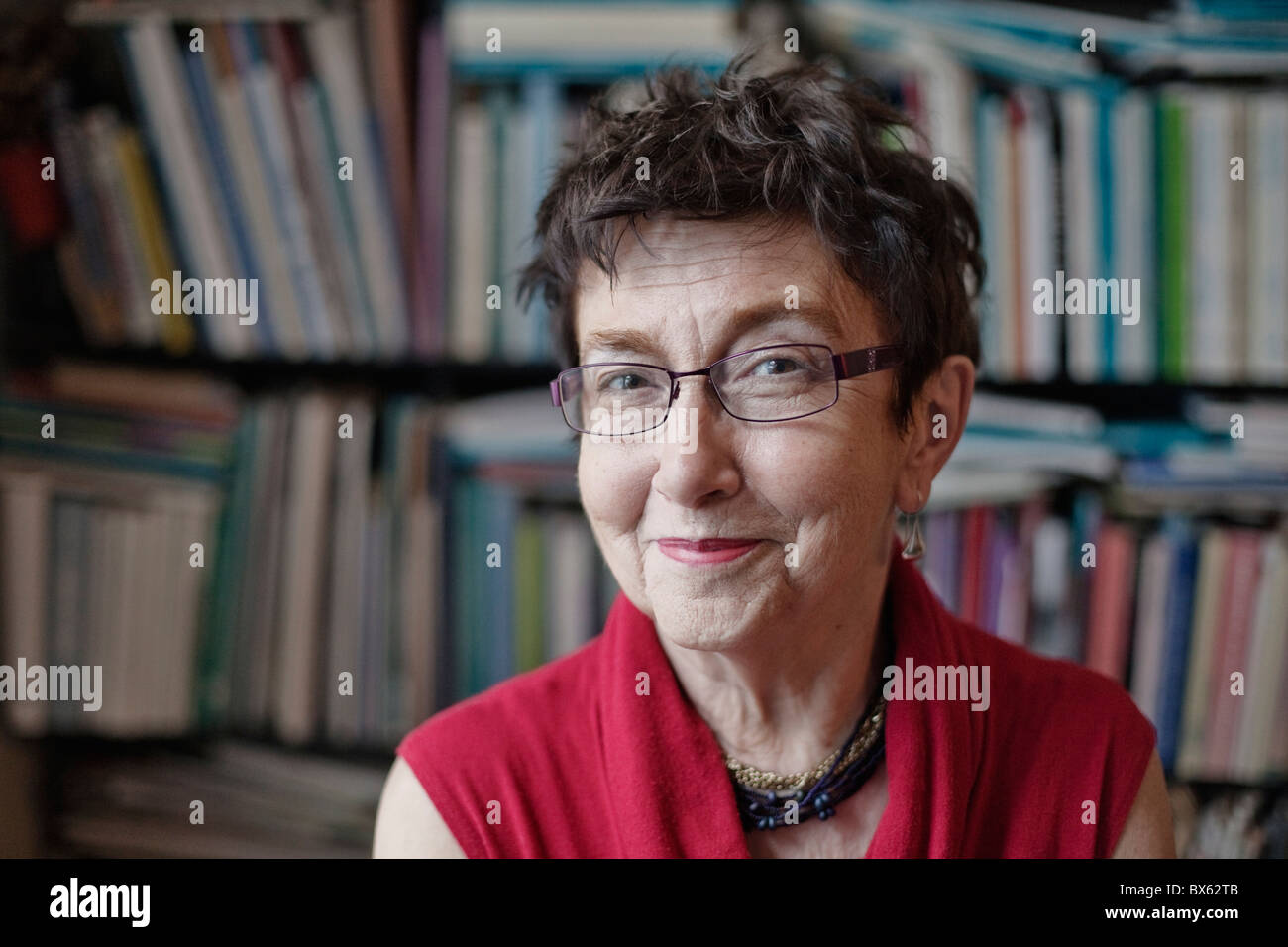 Czech social scientist and publicist Jirina Siklova on May 14, 2010, in Prague. (Ctk Photo/Martin Sterba, Josef - Stock Image