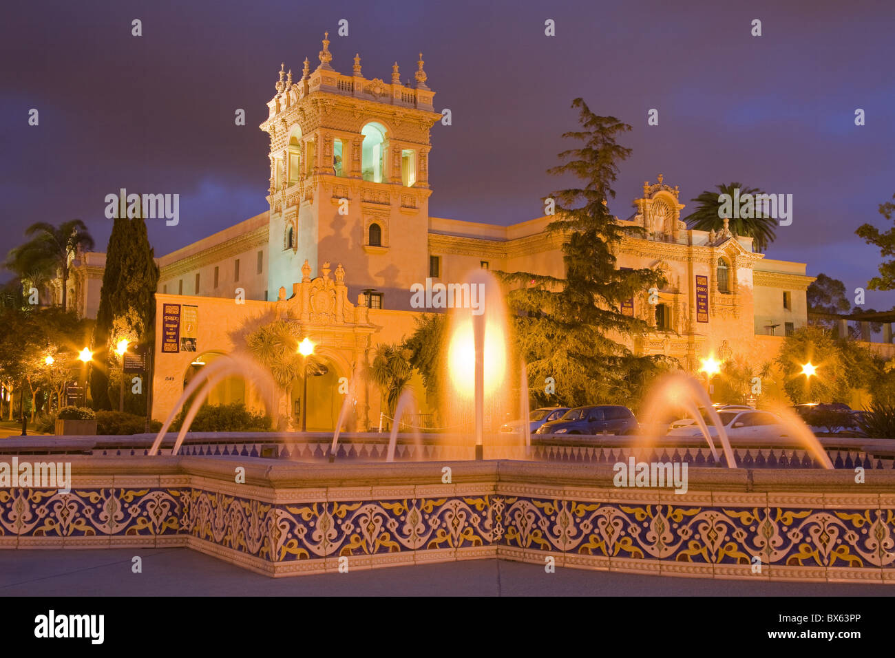 House of Hospitality in Balboa Park, San Diego, California, United States of America, North America - Stock Image