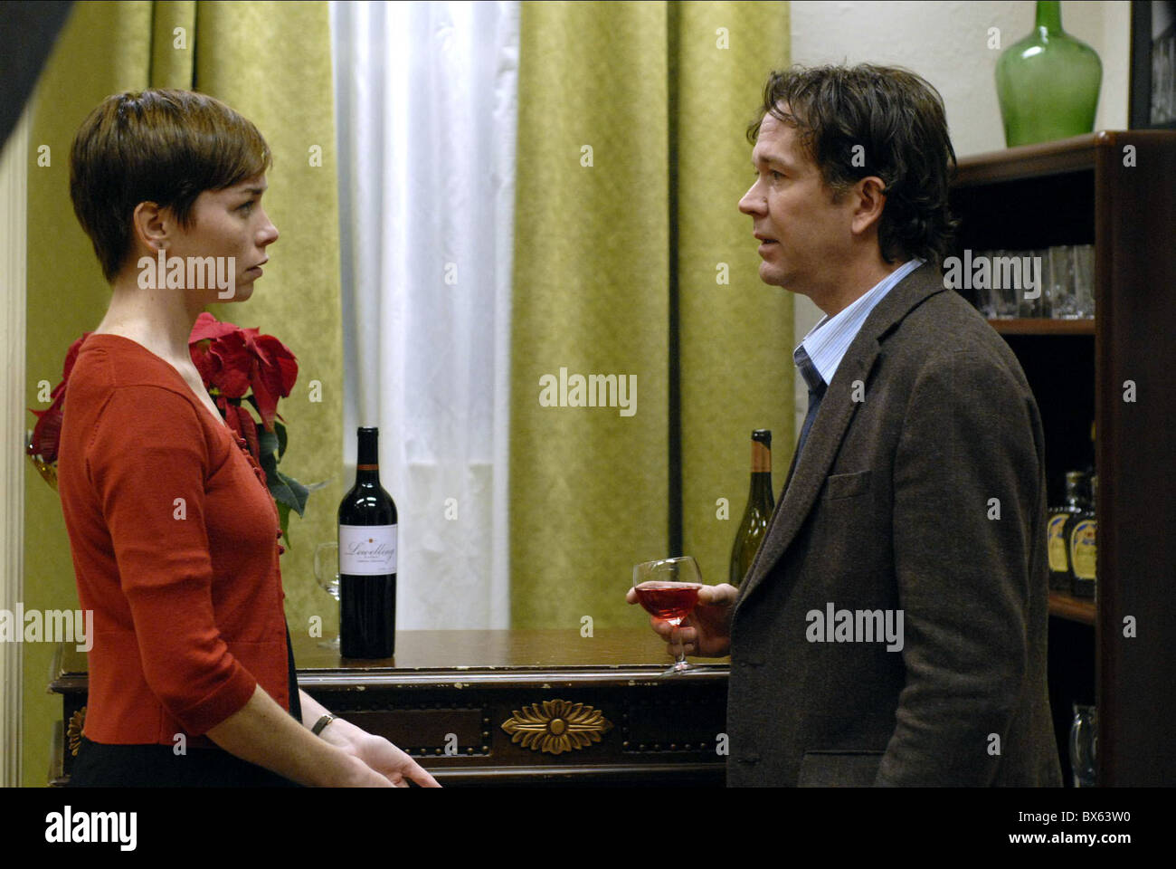 JULIANNE NICHOLSON & TIMOTHY HUTTON BRIEF INTERVIEWS WITH HIDEOUS MEN (2009) - Stock Image