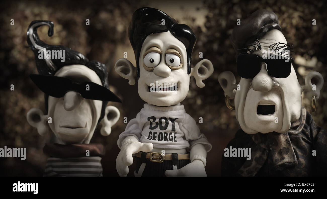 DAMIAN MARY AND MAX (2009) - Stock Image